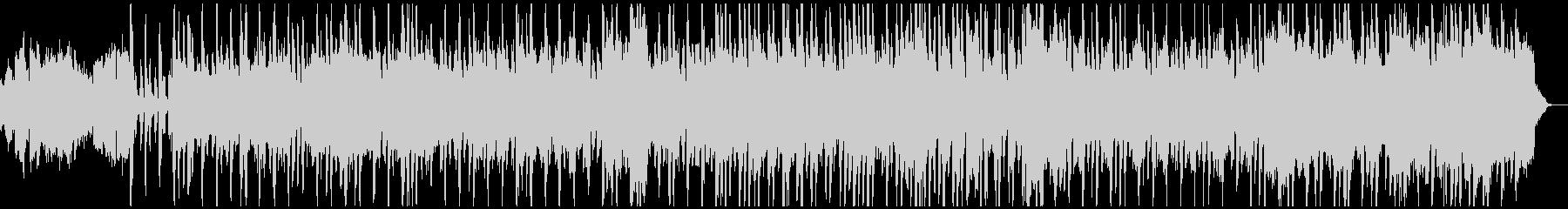アコーディオンとフルートの朗らかなBGMの未再生の波形