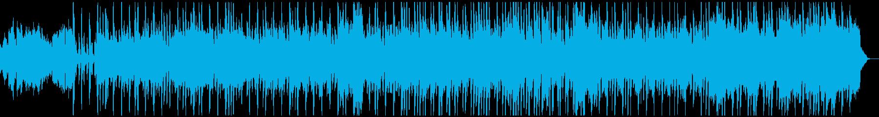 アコーディオンとフルートの朗らかなBGMの再生済みの波形