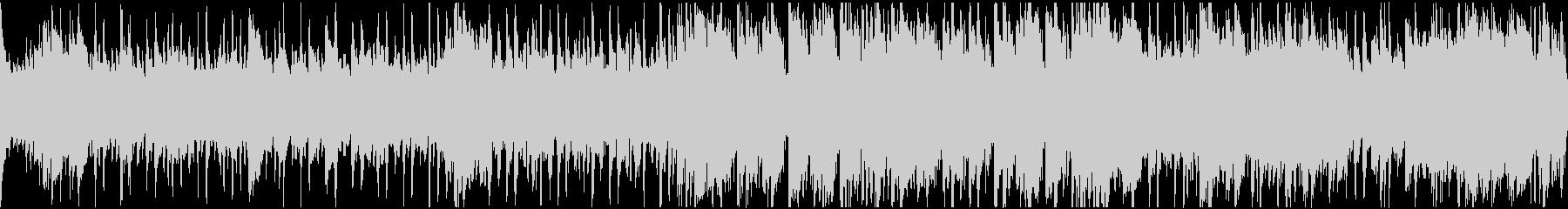 ロマの切ないワルツ・ループの未再生の波形