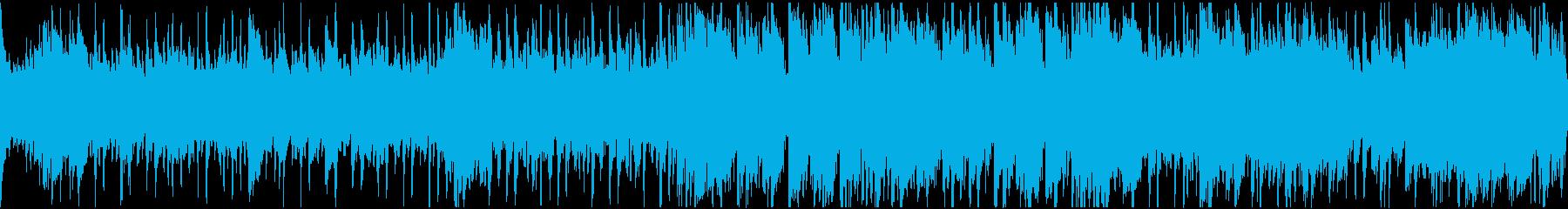 ロマの切ないワルツ・ループの再生済みの波形