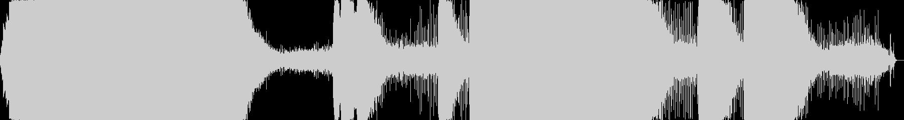 チェーンソー:高音域で安定したモーター。の未再生の波形