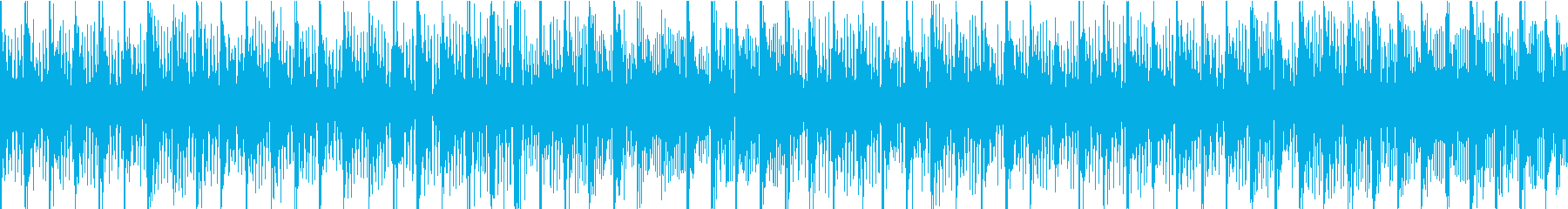 レトロ感のあるエレクトロポップの再生済みの波形