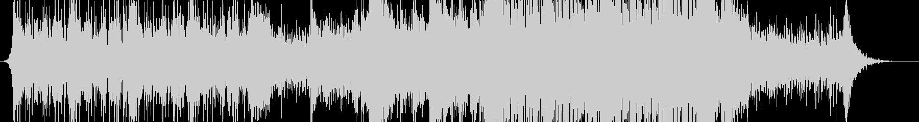 ストリングス主体の壮大なシネマティックの未再生の波形