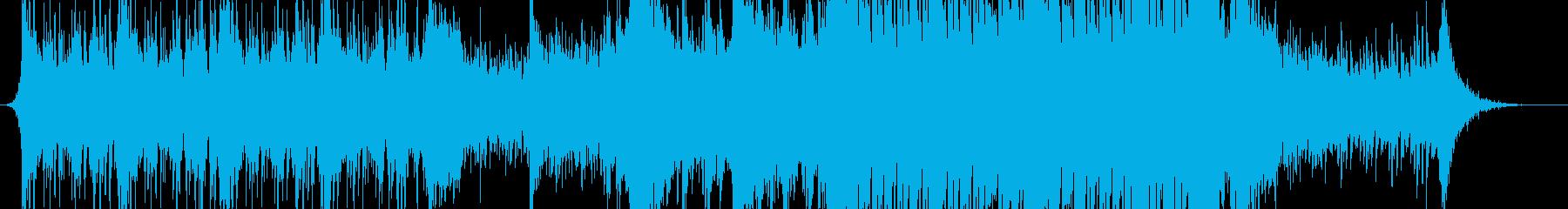 ストリングス主体の壮大なシネマティックの再生済みの波形
