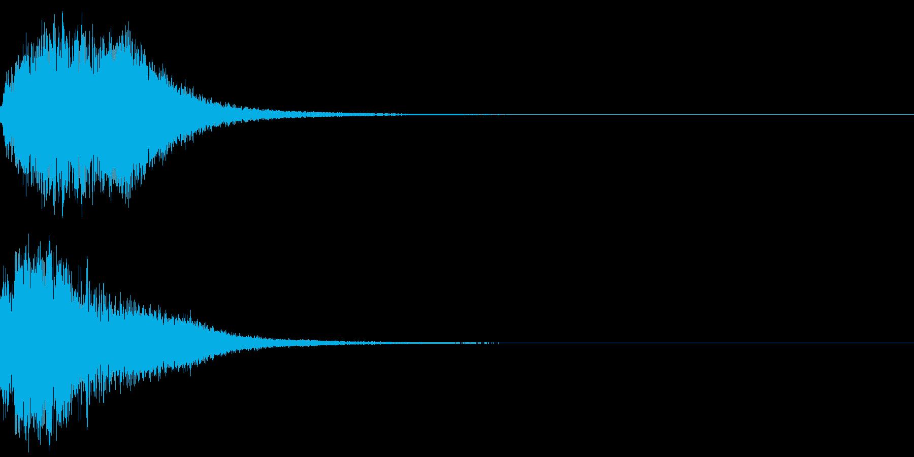 シャキーン(魔法、星、光の輝きに)6CVの再生済みの波形