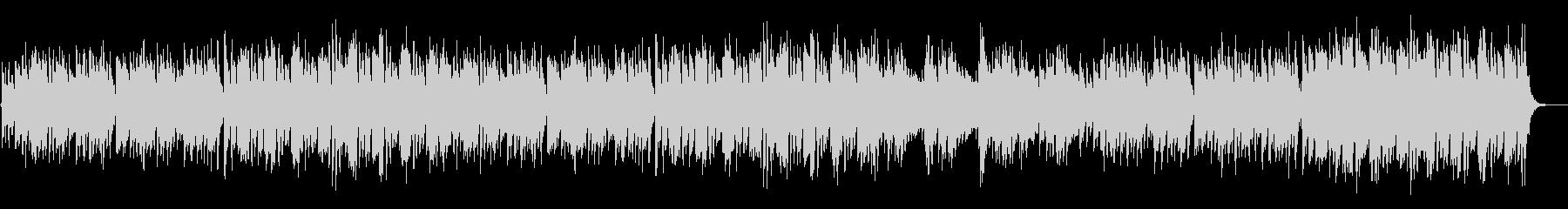 ほのぼの楽しい琴の和風BGMの未再生の波形