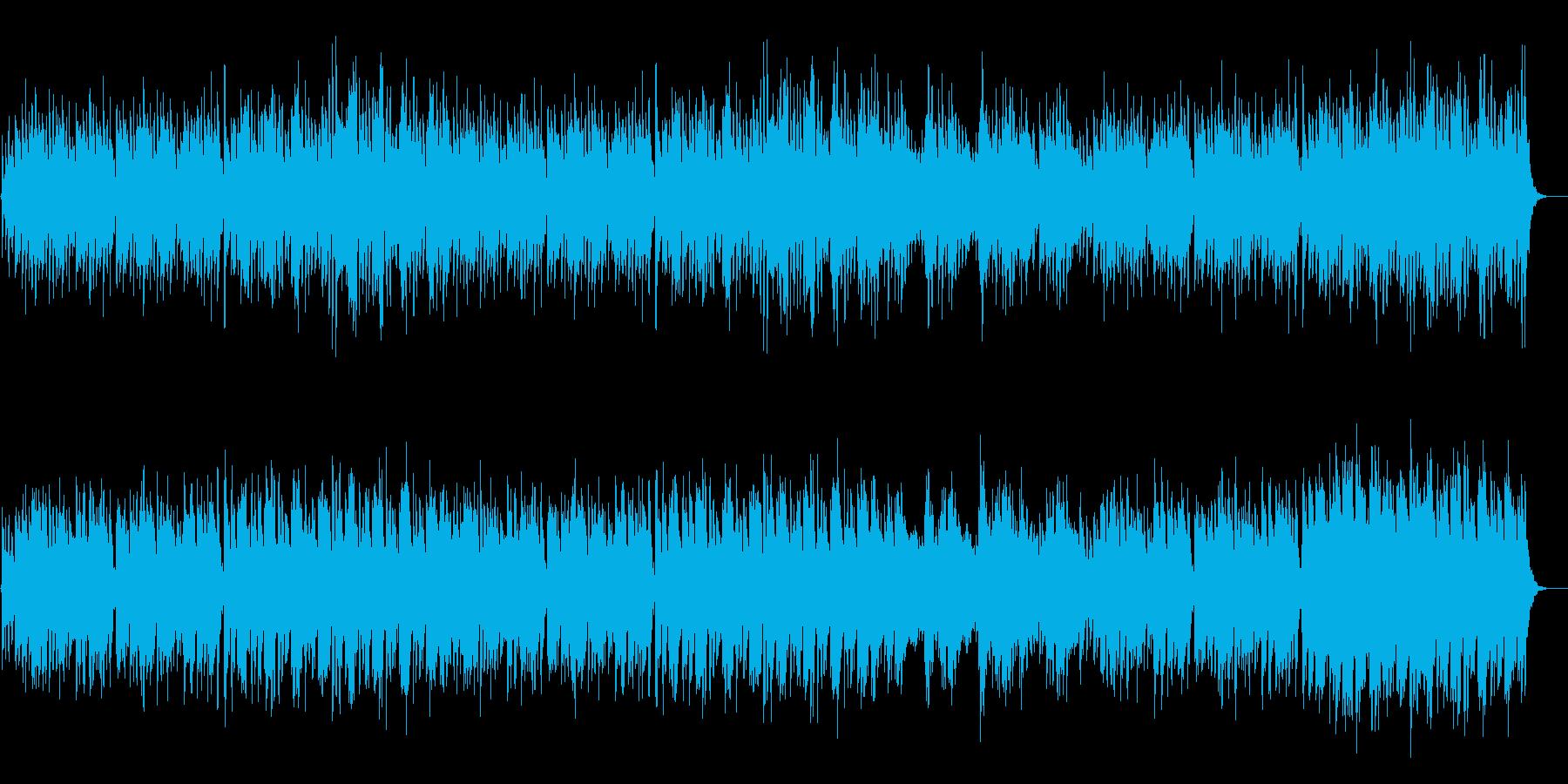 ほのぼの楽しい琴の和風BGMの再生済みの波形
