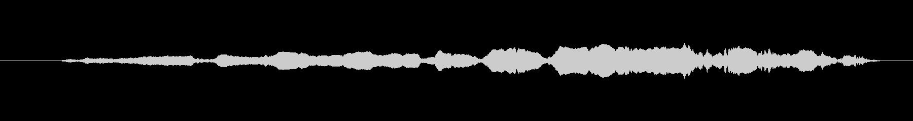 FX ホイッスルスライドトレモロ06の未再生の波形