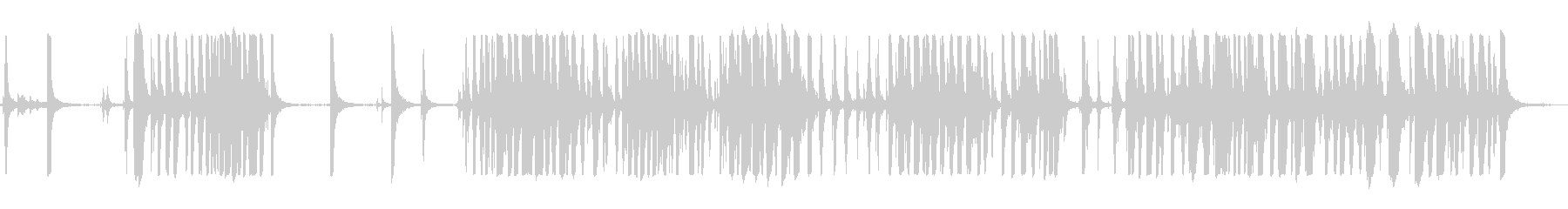 メタルクランク大の未再生の波形