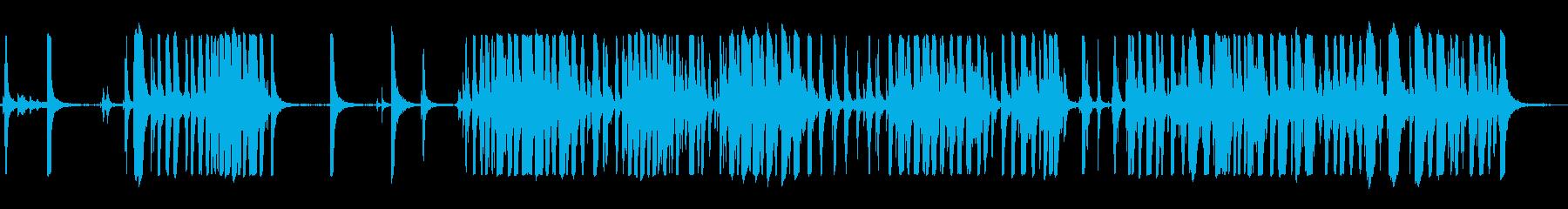 メタルクランク大の再生済みの波形