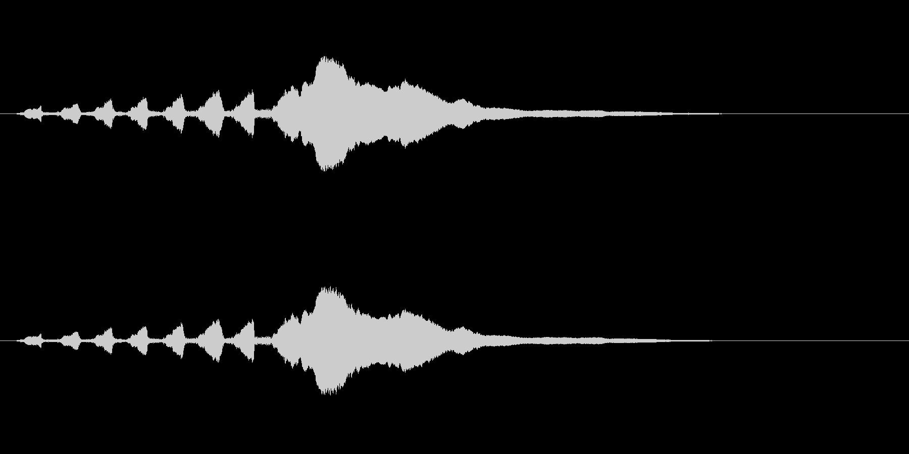 スライドホイッスル-2の未再生の波形