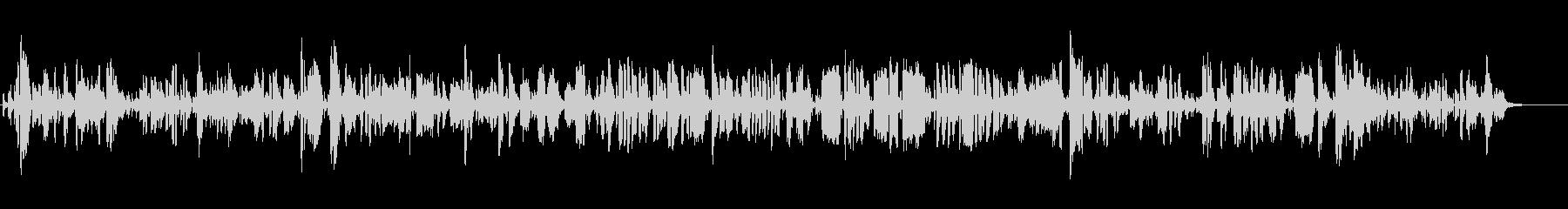 明るく爽やかなジャズ|映像・CM・ラジオの未再生の波形