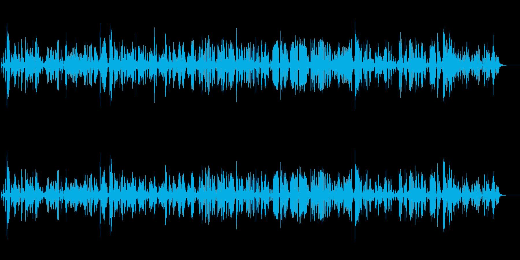 明るく爽やかなジャズ|映像・CM・ラジオの再生済みの波形