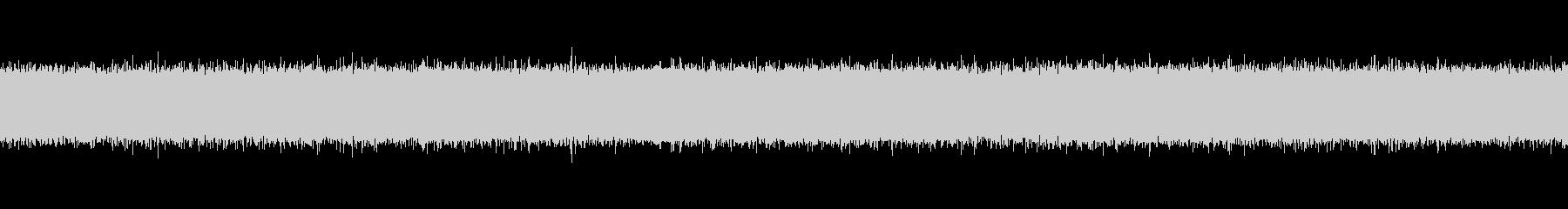 秋の虫の声と川の音1の未再生の波形