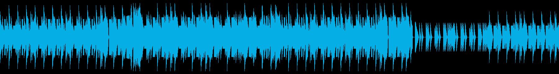 ほのぼのしたレトロゲームのオープニングの再生済みの波形