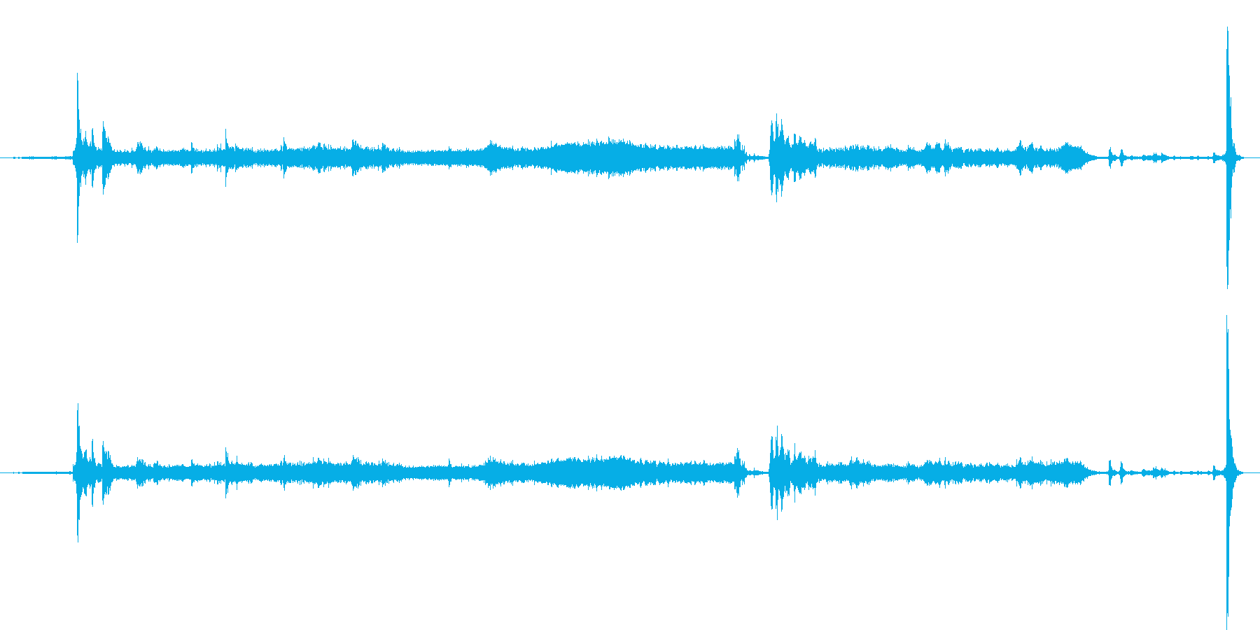 GmキャデラックCts:内線:ガレ...の再生済みの波形
