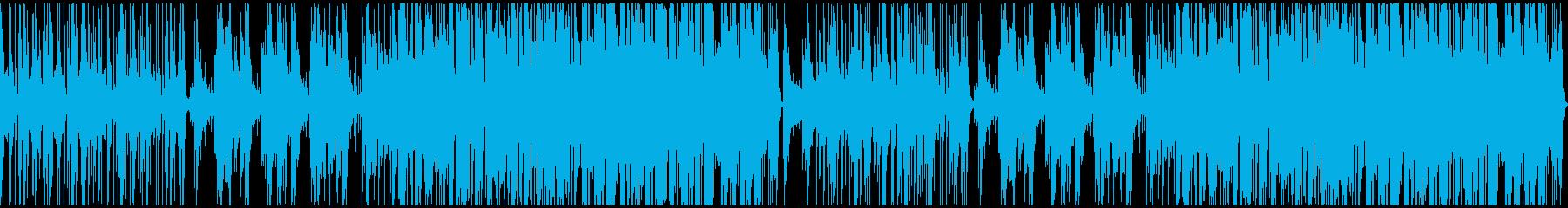 疾走感あふれる妖艶なピアノジャズ:ループの再生済みの波形