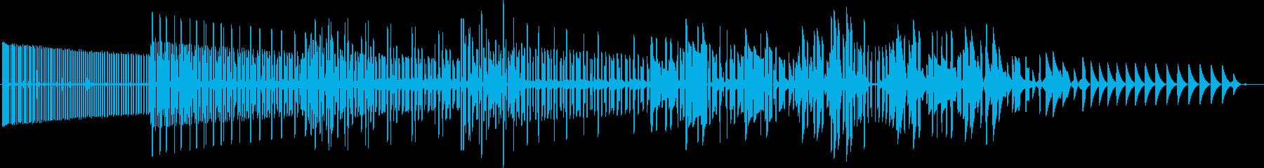 ギュイギュイギュイン(下降)の再生済みの波形
