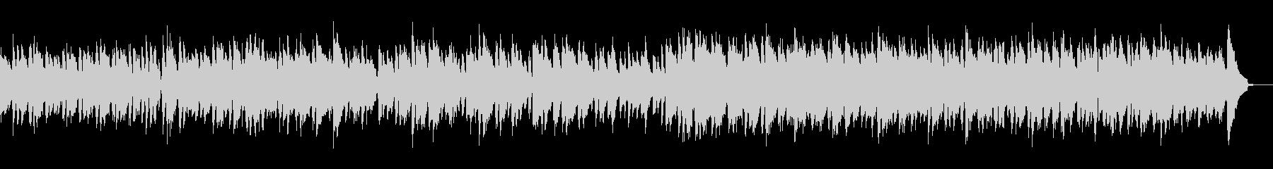 エレクトリックピアノのやさしいボサノバの未再生の波形