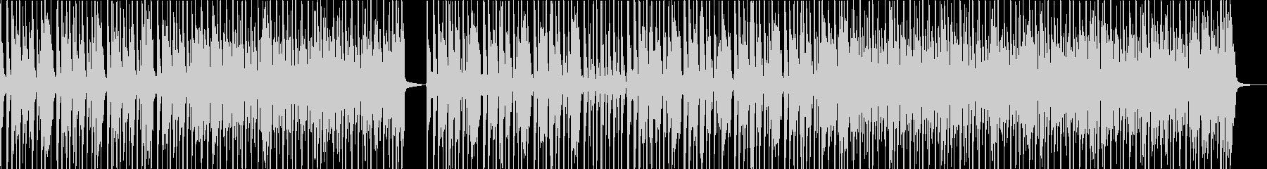 軽快なサイケ・ロック・ポップの未再生の波形