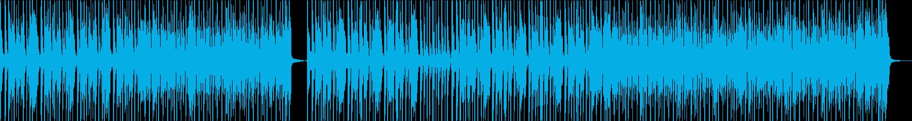 軽快なサイケ・ロック・ポップの再生済みの波形