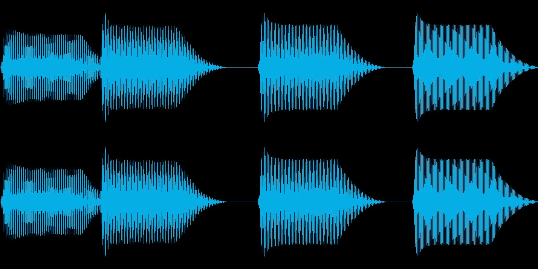 往年のRPG風 コマンド音 シリーズ 4の再生済みの波形