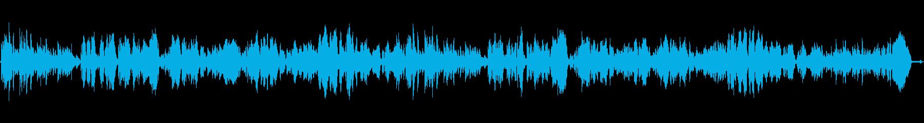 郷愁をそそる戦後復興ソングの再生済みの波形