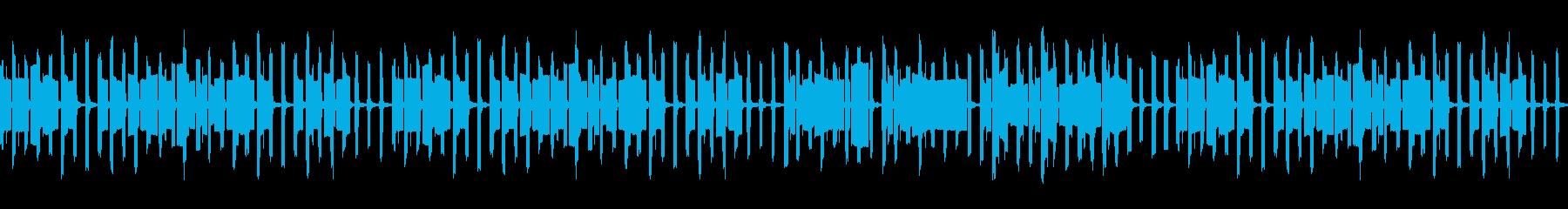 料理番組風オルガン ほのぼの(ループの再生済みの波形