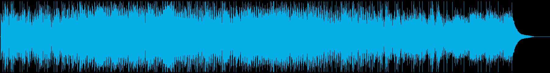 ゆったりポジティブの再生済みの波形