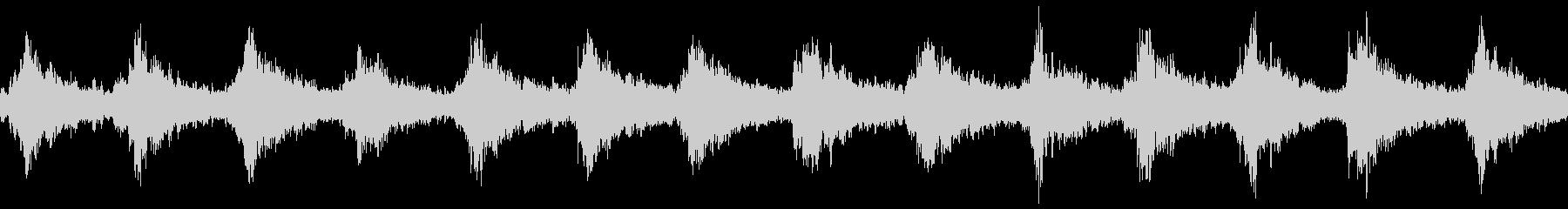 サンタクロースの鈴(シャンシャン)の未再生の波形