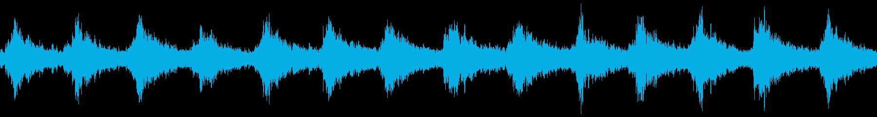 サンタクロースの鈴(シャンシャン)の再生済みの波形