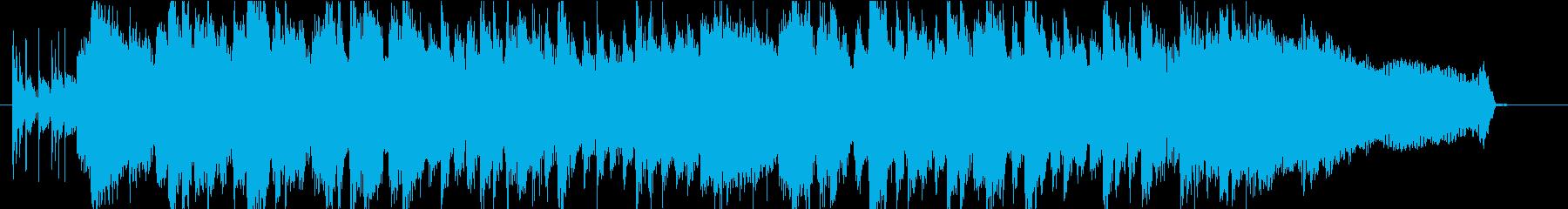 カリフラワーがテーマのミドルテンポ楽曲の再生済みの波形
