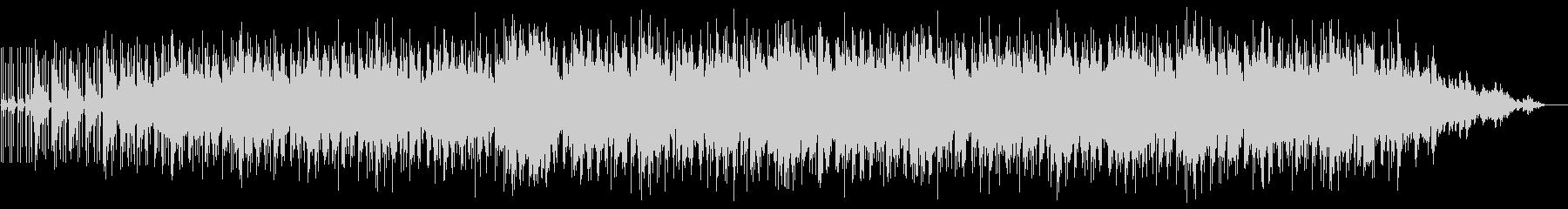 ピースフルなギターインストルメンタルの未再生の波形