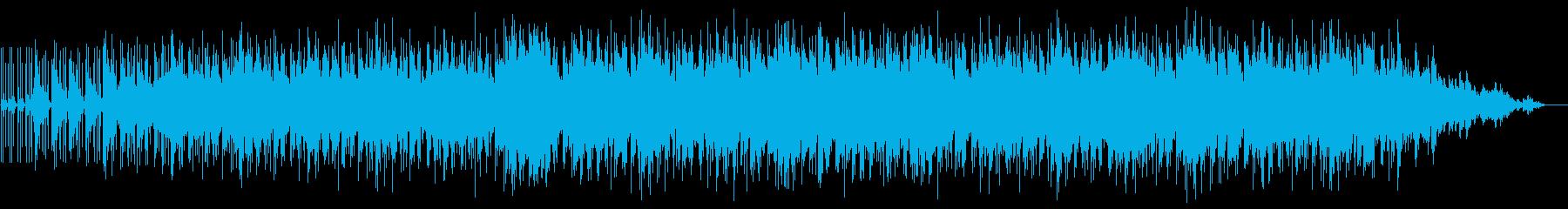 ピースフルなギターインストルメンタルの再生済みの波形