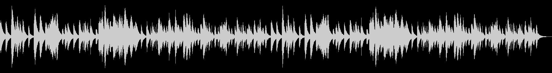 ゴルトベルク変奏曲のオルゴール の未再生の波形