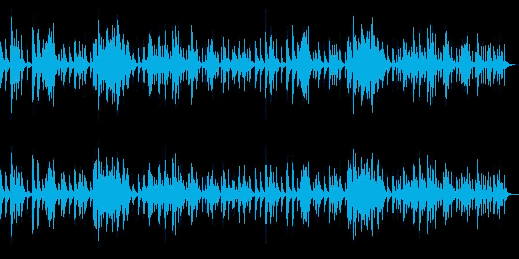 ゴルトベルク変奏曲のオルゴール の再生済みの波形