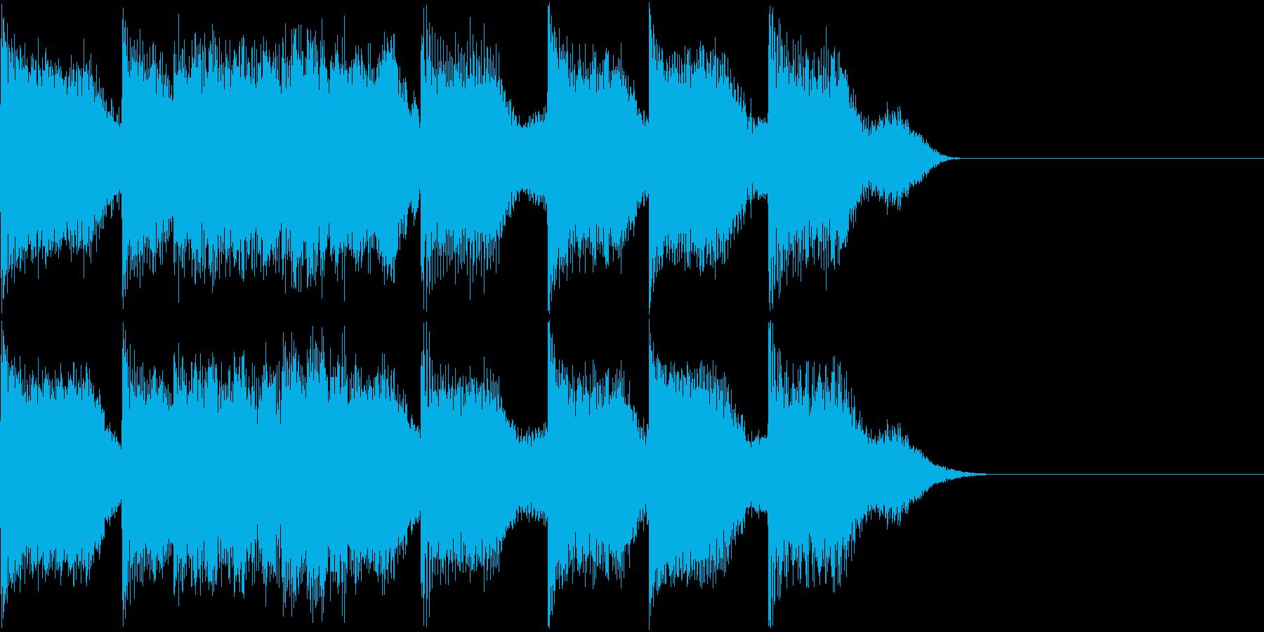 AI メカ/ロボ/マシン動作音 37の再生済みの波形