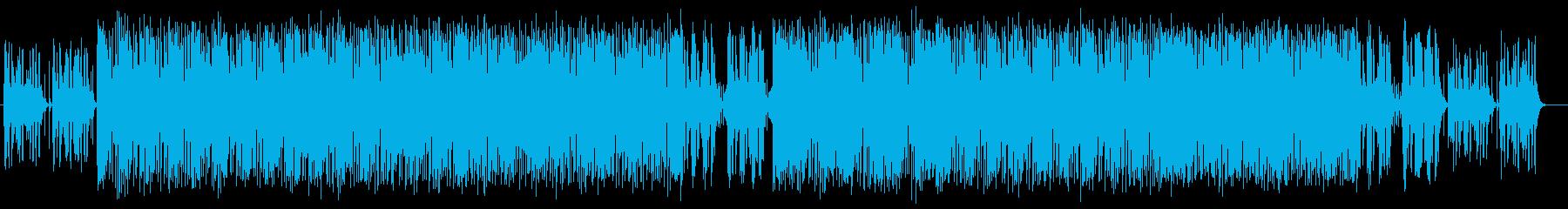 ポップで明るい可愛らしいミュージックの再生済みの波形