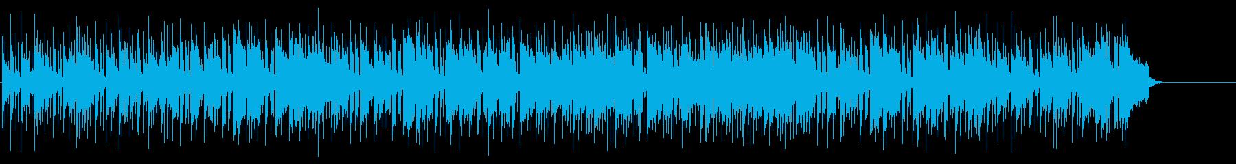 情報向けの爽やかなポップフュージョンの再生済みの波形