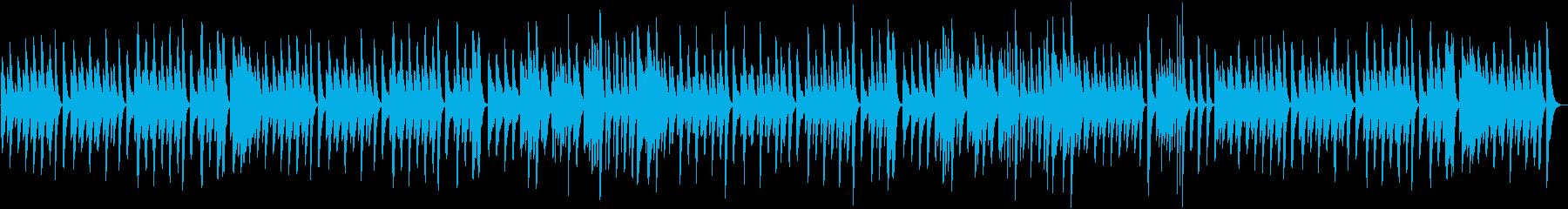 クッキング動画に♪軽快朗らかピアノBGMの再生済みの波形