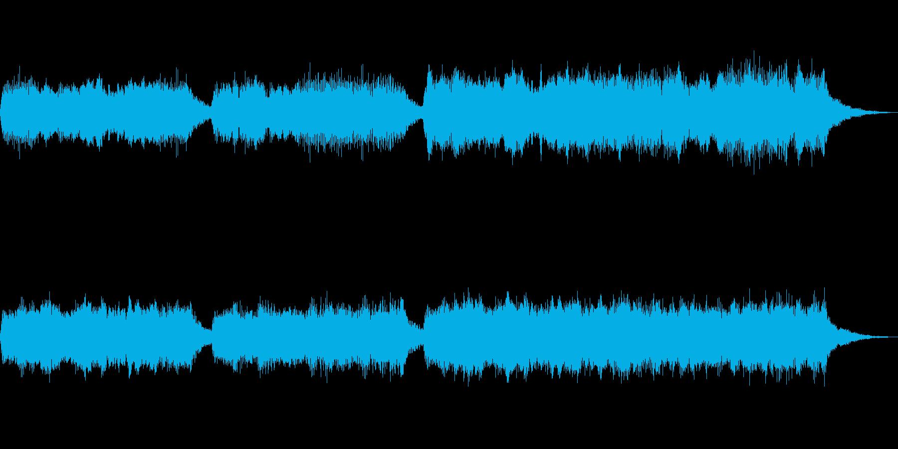 テーマ「失意と決意と」30秒BGMの再生済みの波形