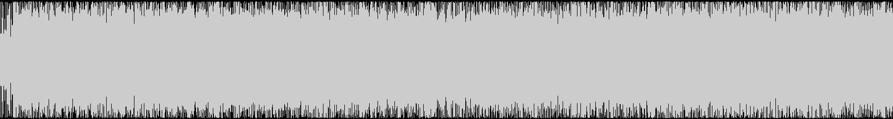 疾走感のある重低音戦闘曲(ループ処理済)の未再生の波形