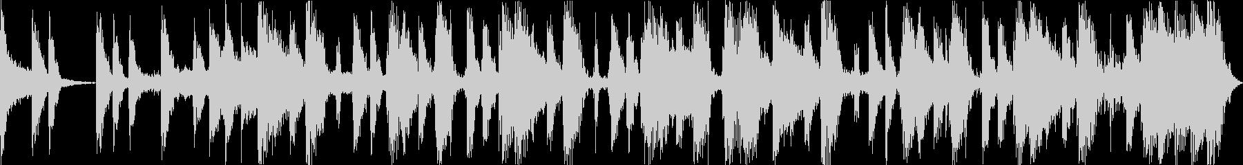コミカルでノれるサックスのポップジングルの未再生の波形