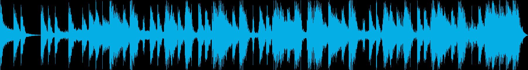コミカルでノれるサックスのポップジングルの再生済みの波形