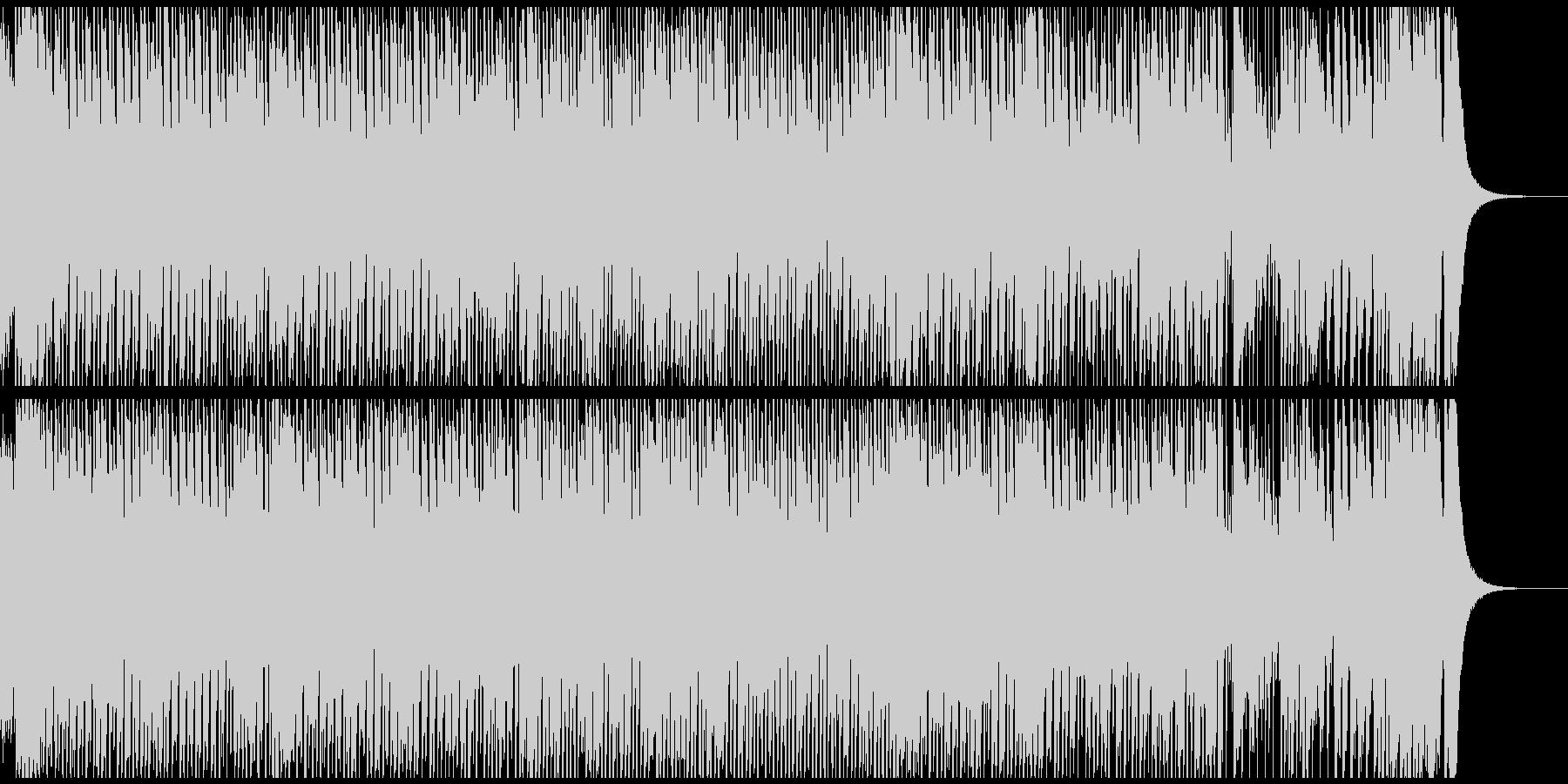 ショパンの幻想即興曲ジャズトリオアレンジの未再生の波形