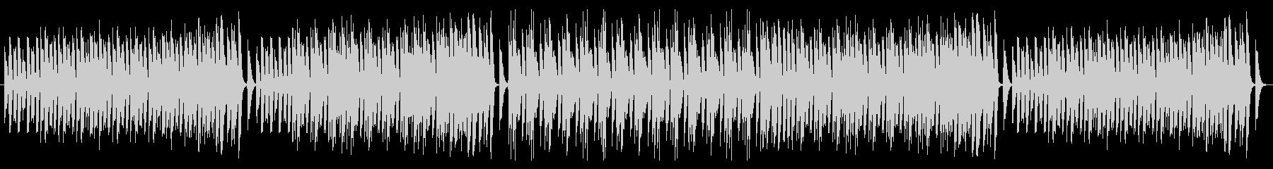 ピアノのみ使用したラグタイムですの未再生の波形