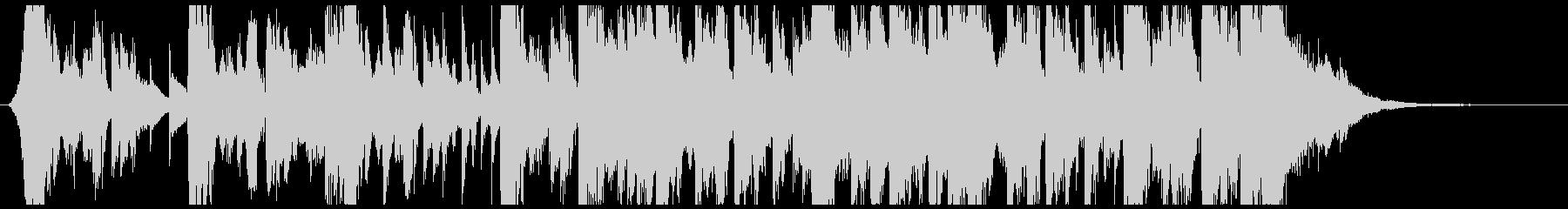 ジングルに適したフューチャー系サウンドの未再生の波形