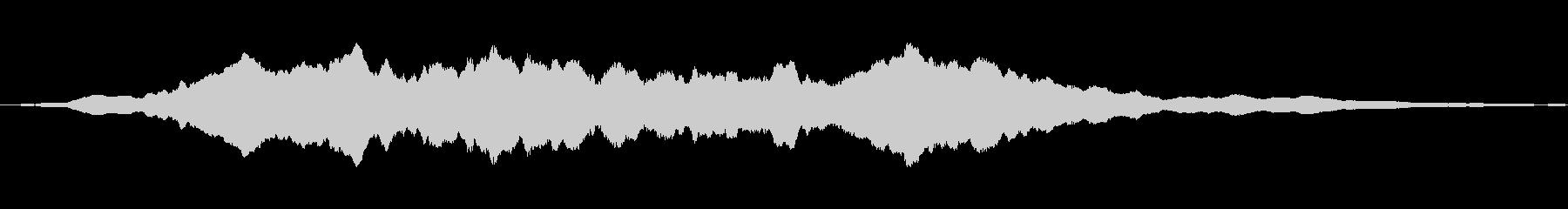 鋭い リンギングブリッターハーモニ...の未再生の波形