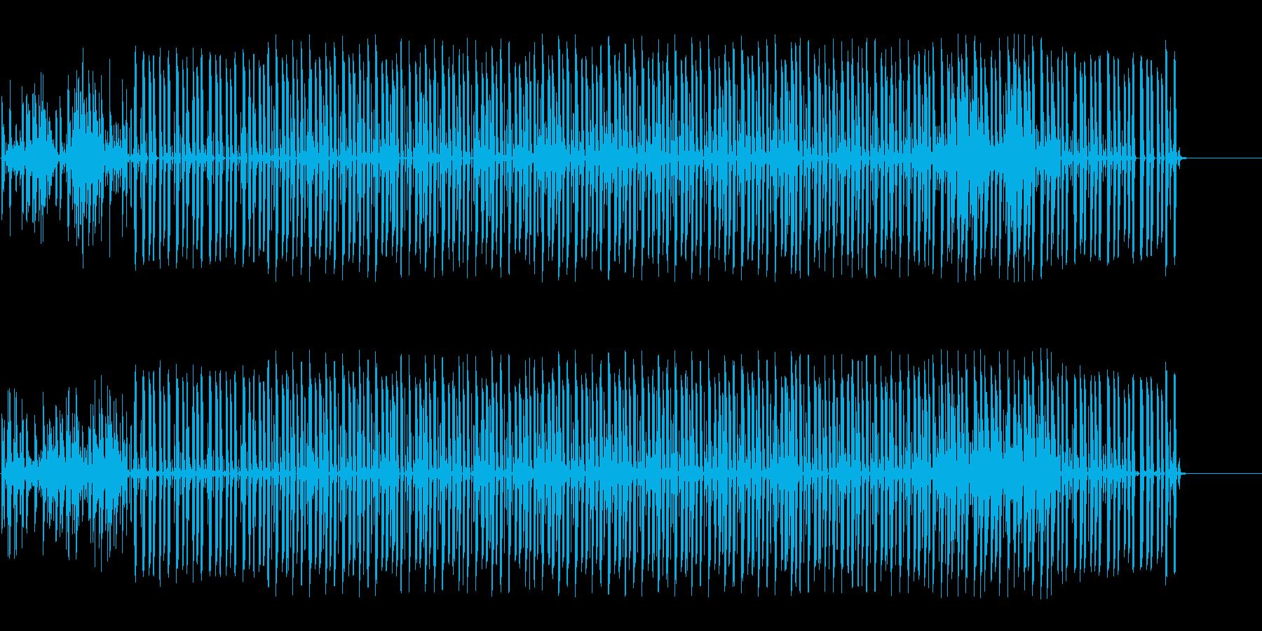怪しく奇妙な雰囲気のエレクトロニカの再生済みの波形