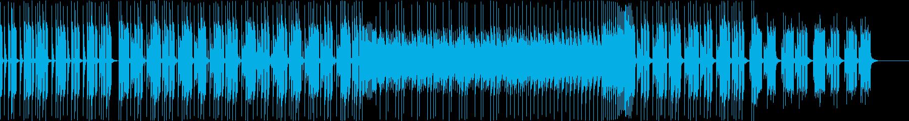 お洒落・企業VPFutureBass bの再生済みの波形